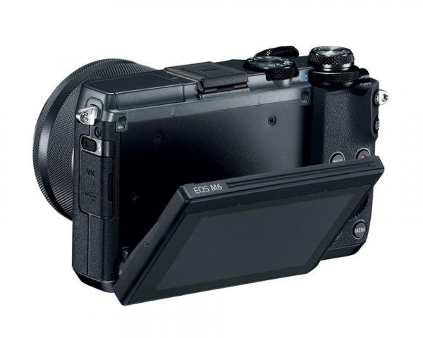 PHOTO CAMERA CANON EOS M6 EF-M 15-45MM 3