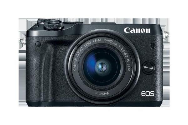 PHOTO CAMERA CANON EOS M6 EF-M 15-45MM 0