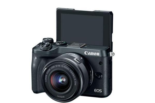 PHOTO CAMERA CANON EOS M6 EF-M 15-45MM 1