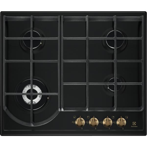Plită gaz Rococo 60 cm negru mat [0]