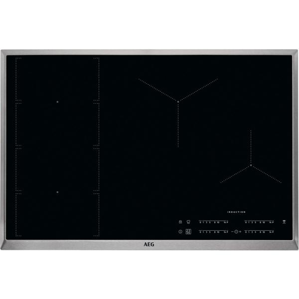 Plită inducţie 80 cm negru [0]