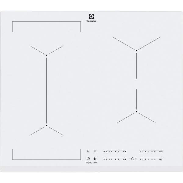 Plită inducţie Bridge 60 cm alb [0]