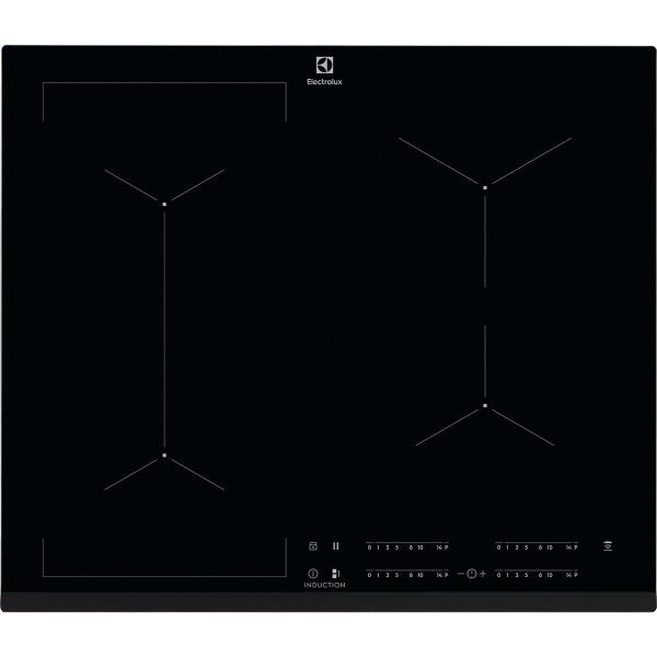 Plită inducţie Bridge 60 cm negru [0]