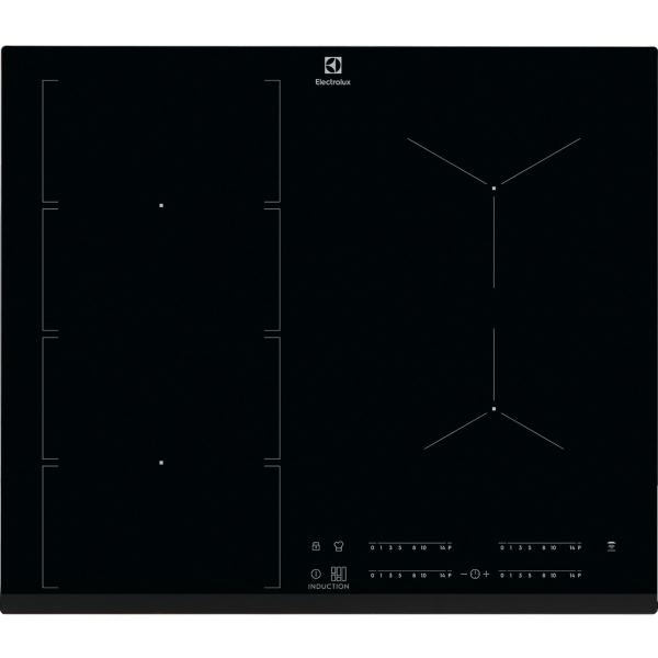 Plită inducţie FlexiBridge 60 cm negru [0]