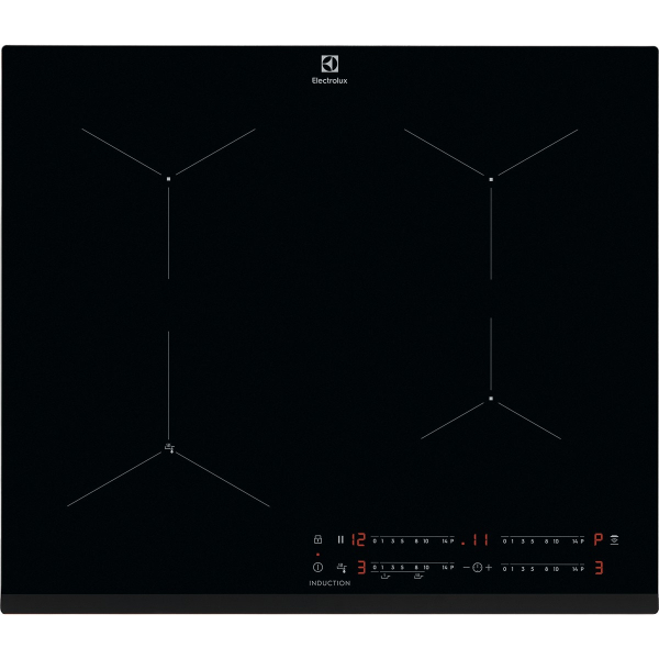 Plită inducţie SenseFry 60 cm negru [0]