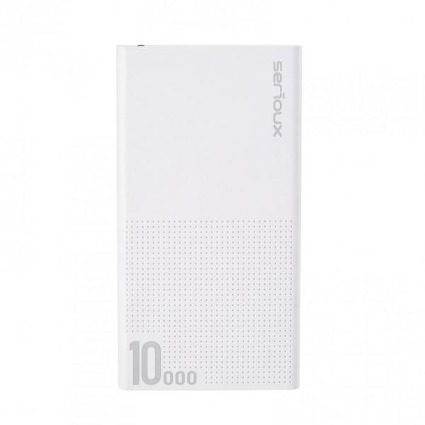 POWER BANK QC SERIOUX 10000 WHITE 1