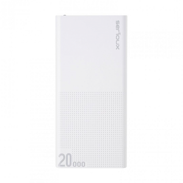POWER BANK QC SERIOUX 20000 WHITE 1