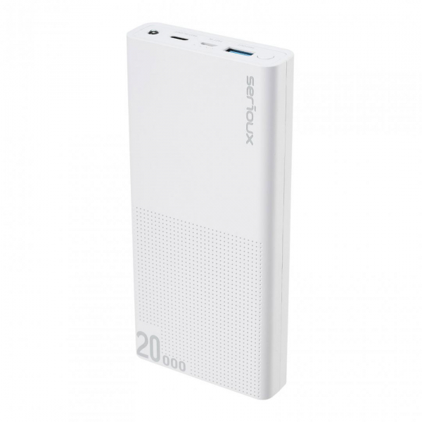 POWER BANK QC SERIOUX 20000 WHITE 0