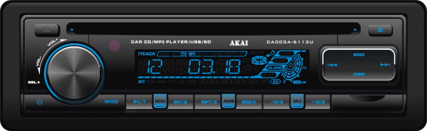 RADIO CD USB AUTO AKAI CA003A-6113U 0