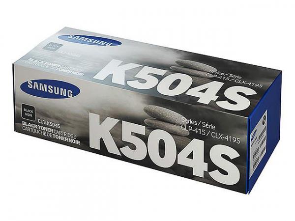 SAMSUNG CLT-K504S/ELS BLACK TONER 0