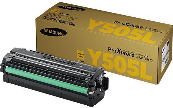 SAMSUNG CLT-Y505L/ELS  YELLOW TONER 0