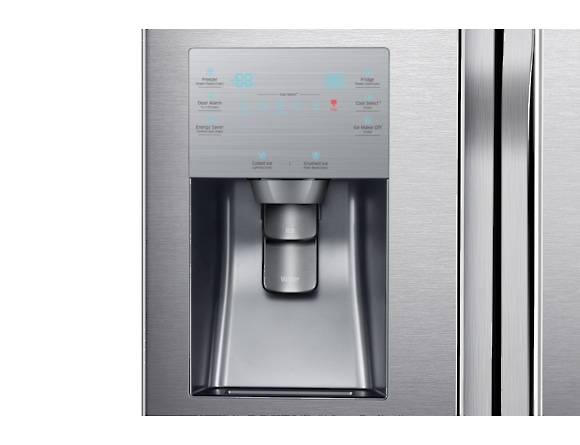 Side by Side Samsung RF56J9041SR, Capacitate 564L, Capacitate neta congelator: 203l, Capacitate neta frigider: 361l, Inaltime 1825mm, Latime: 908mm, Adancime 733mm, Functii racire: Triple Cooling /No  6