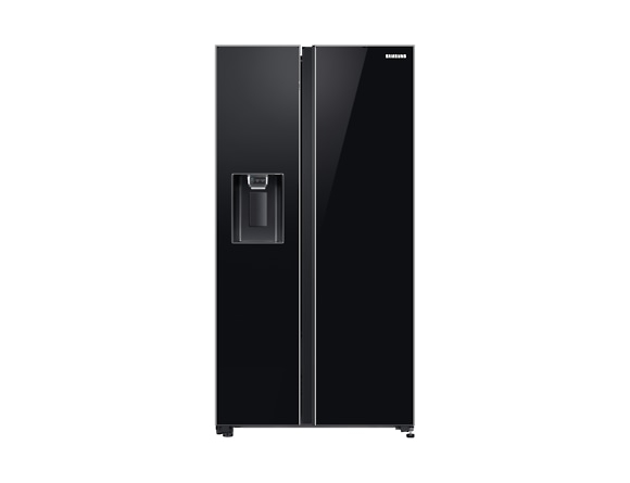 Side by Side Samsung RS65R54112C, Capacitate bruta totala 660L, Capacitate neta congelator: 202l, Capacitate neta frigider: 415l, Inaltime 1780mm, Latime: 912mm, Adancime 716mm, Functii racire: All Ar 0