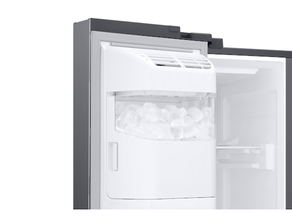 Side by Side Samsung RS68N8321S9, Capacitate 617L, Capacitate neta congelator: 210l, Capacitate neta frigider: 407l, Inaltime 1780mm, Latime: 912mm, Adancime 716mm, Functii racire: Twin Cooling Plus/N 8