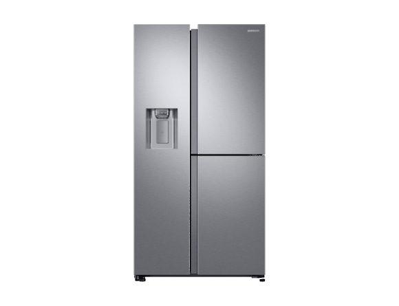 Side by Side Samsung RS68N8650SL, Capacitate 608L, Capacitate neta congelator: 210l, Capacitate neta frigider: 398l, Inaltime 1780mm, Latime: 912mm, Adancime 716mm, Functii racire: Twin Cooling Plus/N 0