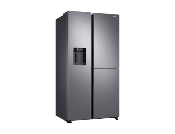 Side by Side Samsung RS68N8650SL, Capacitate 608L, Capacitate neta congelator: 210l, Capacitate neta frigider: 398l, Inaltime 1780mm, Latime: 912mm, Adancime 716mm, Functii racire: Twin Cooling Plus/N 1