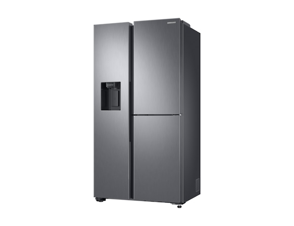 Side by Side Samsung RS68N8650SL, Capacitate 608L, Capacitate neta congelator: 210l, Capacitate neta frigider: 398l, Inaltime 1780mm, Latime: 912mm, Adancime 716mm, Functii racire: Twin Cooling Plus/N 2