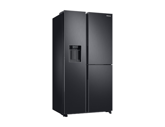 Side by Side Samsung RS68N8671B1, Capacitate 604L, Capacitate neta congelator: 210l, Capacitate neta frigider: 394l, Inaltime 1747mm, Latime: 960mm, Adancime 716mm, Functii racire: Twin Cooling Plus/N 1