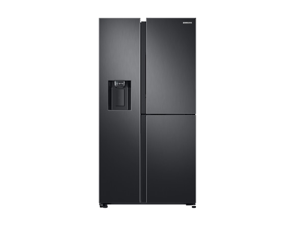 Side by Side Samsung RS68N8671B1, Capacitate 604L, Capacitate neta congelator: 210l, Capacitate neta frigider: 394l, Inaltime 1747mm, Latime: 960mm, Adancime 716mm, Functii racire: Twin Cooling Plus/N 0