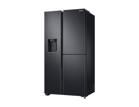 Side by Side Samsung RS68N8671B1, Capacitate 604L, Capacitate neta congelator: 210l, Capacitate neta frigider: 394l, Inaltime 1747mm, Latime: 960mm, Adancime 716mm, Functii racire: Twin Cooling Plus/N 2