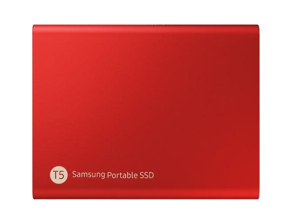 SSD Samsung MU-PA500R/EU, Portabil T5, 500Gb, USB 3.1, 540Mb/s, Red 1