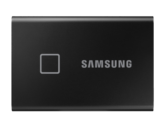 SSD Samsung MU-PC1T0K/WW, Portabil T7 Touch, 1Tb, USB 3.2, 1050Mb/s, protectie cu amprenta 0