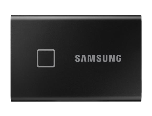 SSD Samsung MU-PC500K/WW, Portabil T7 Touch, 500Gb, USB 3.2, 1050Mb/s, protectie cu amprenta 0