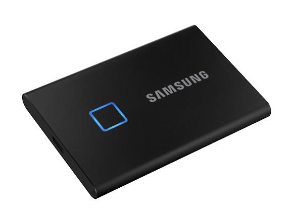 SSD Samsung MU-PC500K/WW, Portabil T7 Touch, 500Gb, USB 3.2, 1050Mb/s, protectie cu amprenta 1