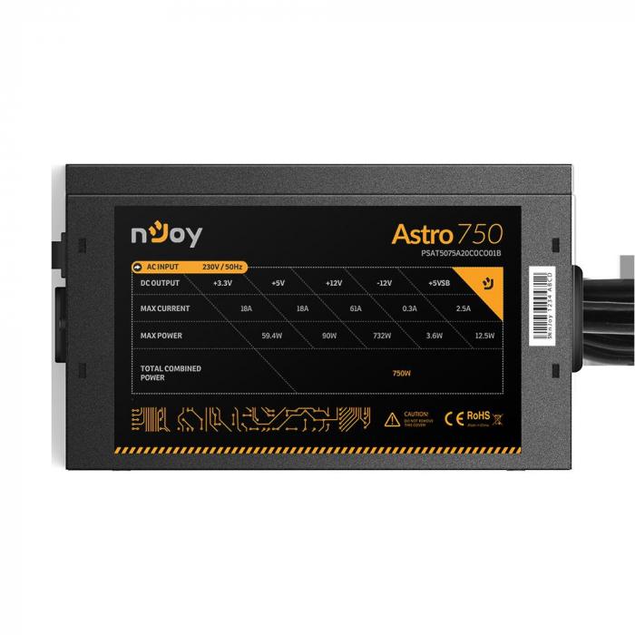 SURSA NJOY ASTRO 750 ATX 750W [3]
