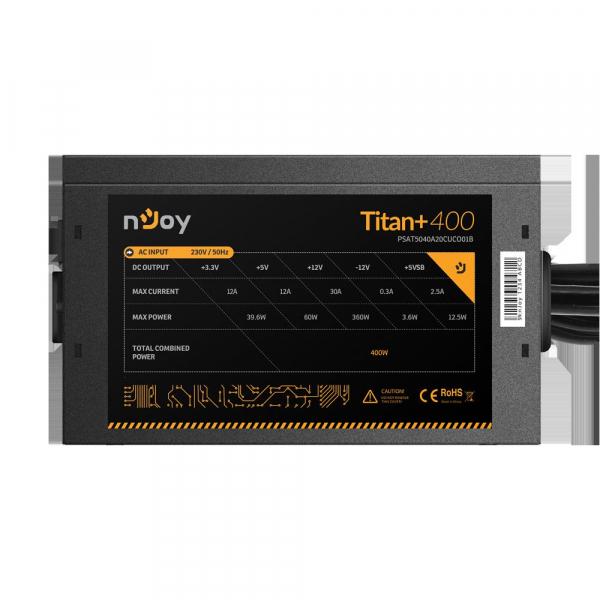 SURSA NJOY TITAN+ 400 ATX 400W 3