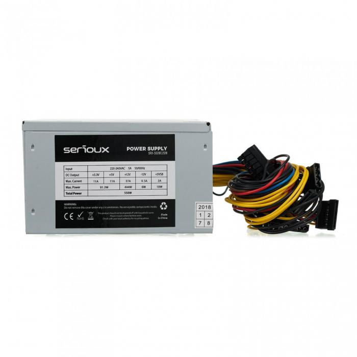 SURSA PC SERIOUX ENERGY 550W VENT 12CM [2]