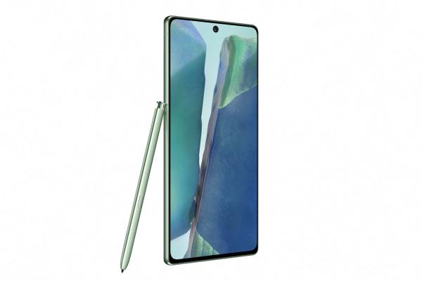 Telefon SAMSUNG Galaxy Note 20, 256GB, 8GB RAM, Dual SIM, LTE, Mystic Green 1