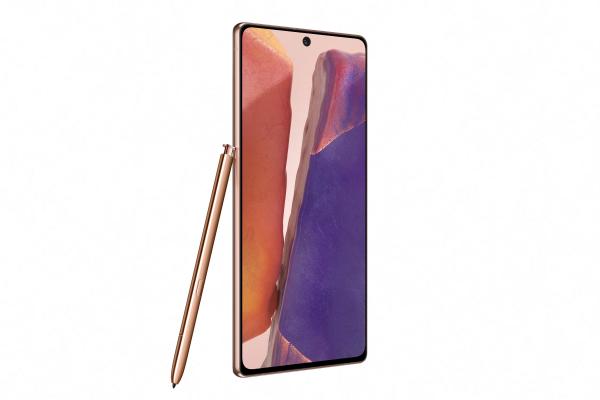 Telefon SAMSUNG Galaxy Note 20, 256GB, 8GB RAM, Dual SIM, LTE, Mystic Bronze [1]