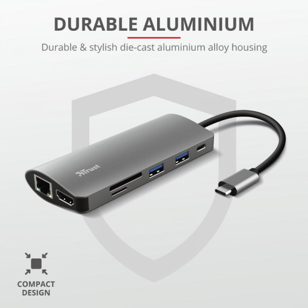 Trust Dalyx 7in1 USB-C Multiport Adapter 7