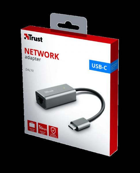 Trust Dalyx USB-C to Ethernet Adapter 9