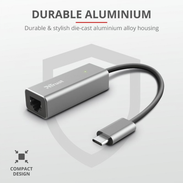 Trust Dalyx USB-C to Ethernet Adapter 5