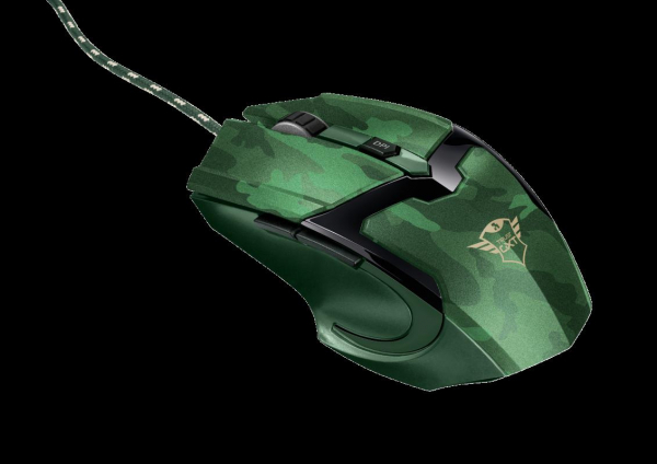 Trust GXT 101D Gav Gaming Mouse - jungle 0