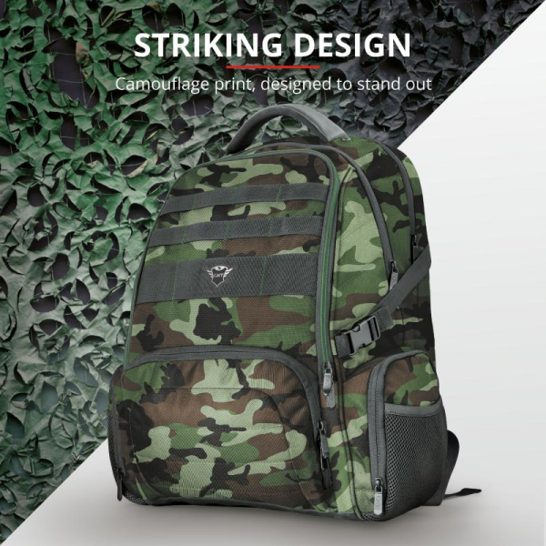 "Trust GXT 1250G Hunter G Backpack 17.3"" 8"