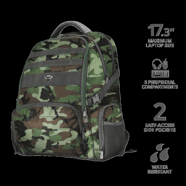 "Trust GXT 1250G Hunter G Backpack 17.3"" 1"