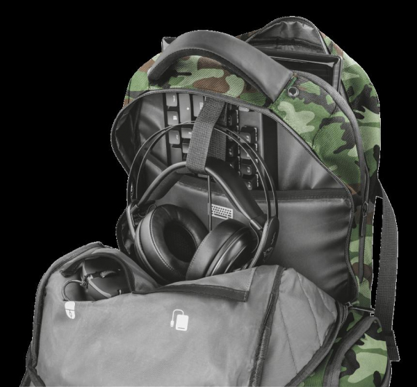 "Trust GXT 1250G Hunter G Backpack 17.3"" 4"
