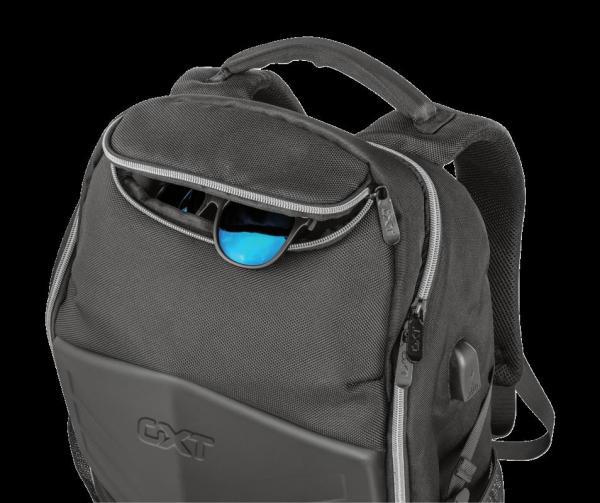 """Trust GXT 1255 Outlaw Backpack Black 15"""" 4"""