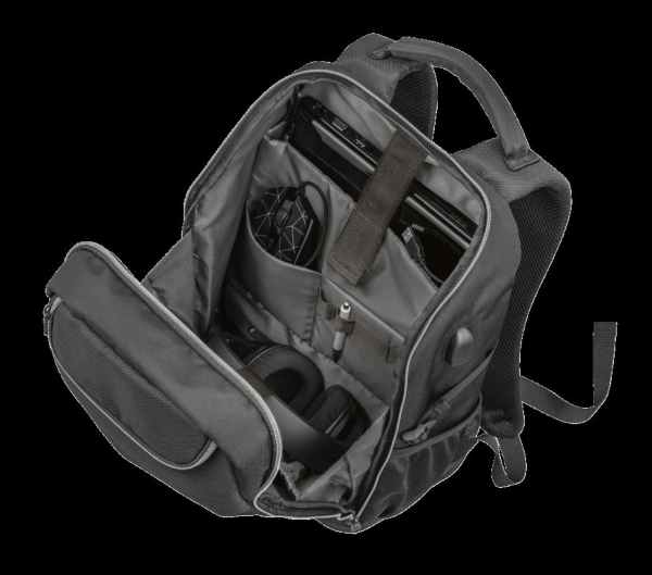 """Trust GXT 1255 Outlaw Backpack Black 15"""" 5"""