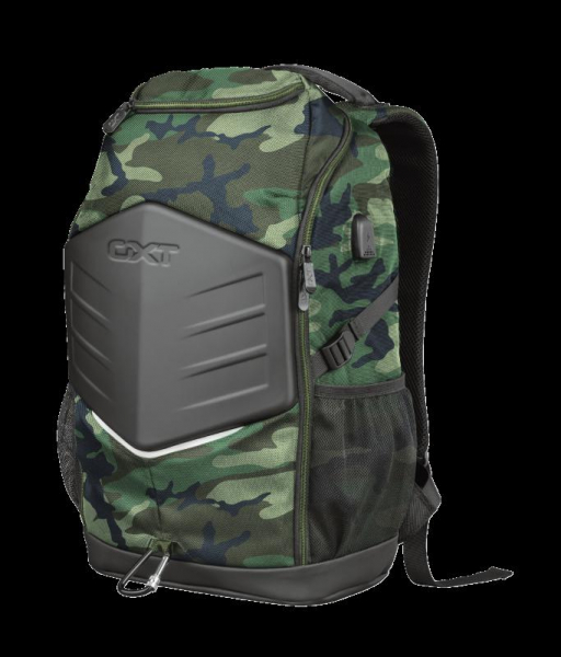 """Trust GXT 1255 Outlaw Backpack Camo 15"""" 7"""