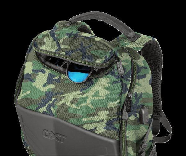 """Trust GXT 1255 Outlaw Backpack Camo 15"""" 2"""