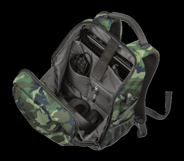 """Trust GXT 1255 Outlaw Backpack Camo 15"""" 1"""