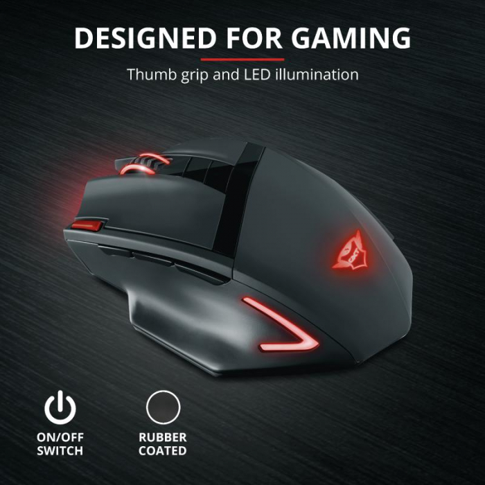 Trust GXT 130 Ranoo Wireless Gaming Mous [3]