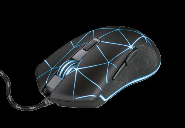 Trust GXT 133 Locx Illuminated Gaming Mo 0