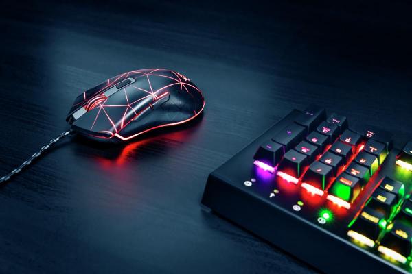 Trust GXT 133 Locx Illuminated Gaming Mo 5