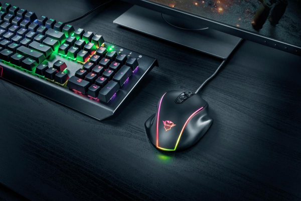 Trust GXT 165 Celox RGB Gaming Mouse 6