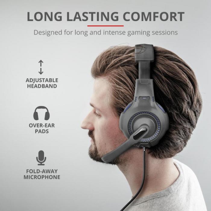 Trust GXT 307B Ravu Gaming Headset PS4 [6]